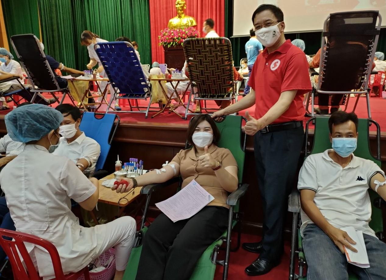 Gia Viễn tổ chức chương trình hiến máu tình nguyện đợt 1, năm 2021