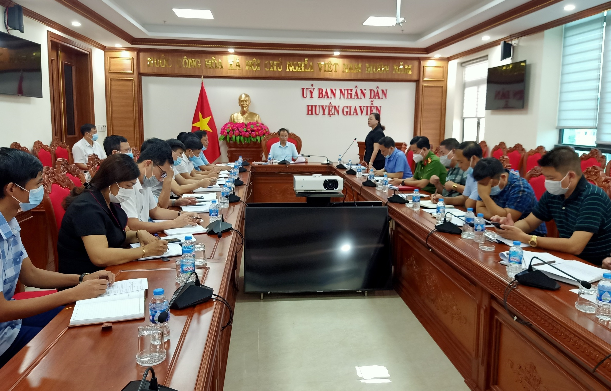 Thường trực HĐND huyện tổ chức hội nghị liên tịch để thống nhất nội dung, thời gian và công tác chuẩn bị tổ chức Kỳ họp thứ 2, HĐND huyện khóa XX, nhiệm kỳ 2021 -2026